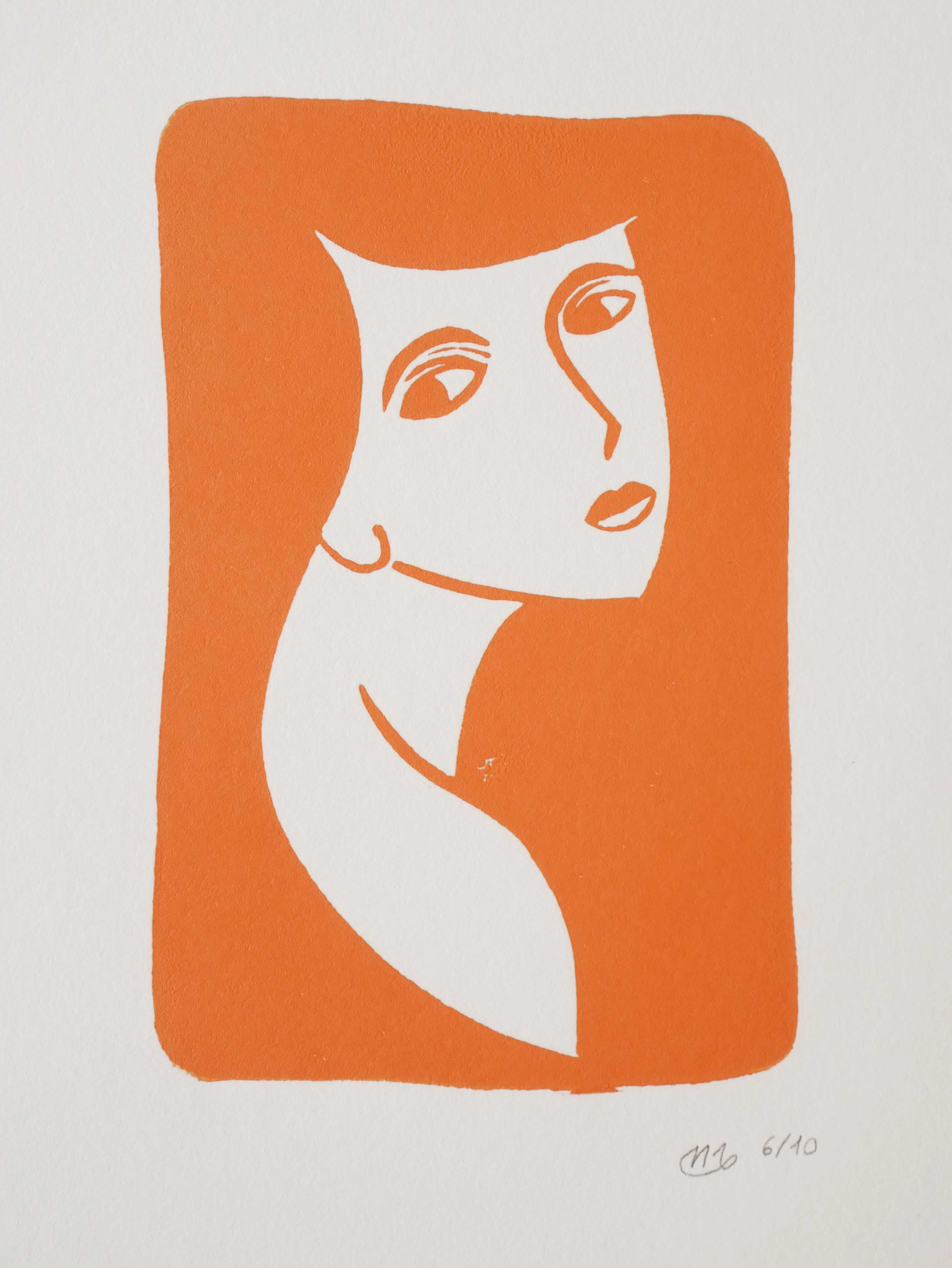 Illustration regard femme portrait